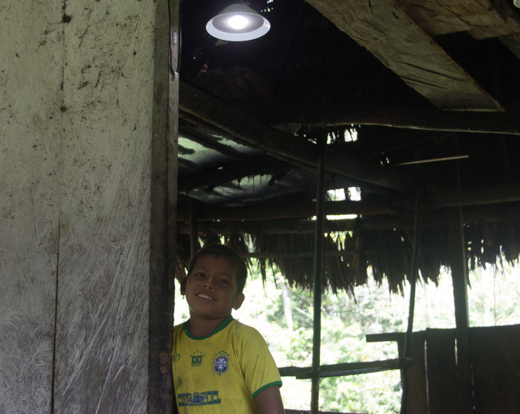 Acciona.org advances in electrifying Amazonian communities