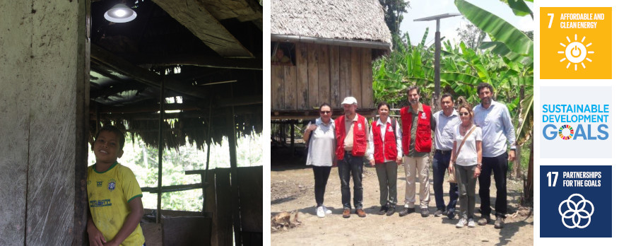 Acciona.org advances in electrifying Amazonian communities