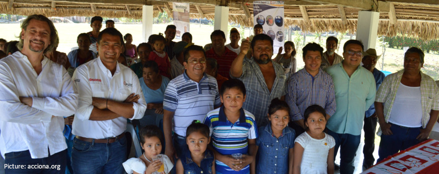 Official visit with our partners in EncASa Oaxaca to the first systems installed within the project
