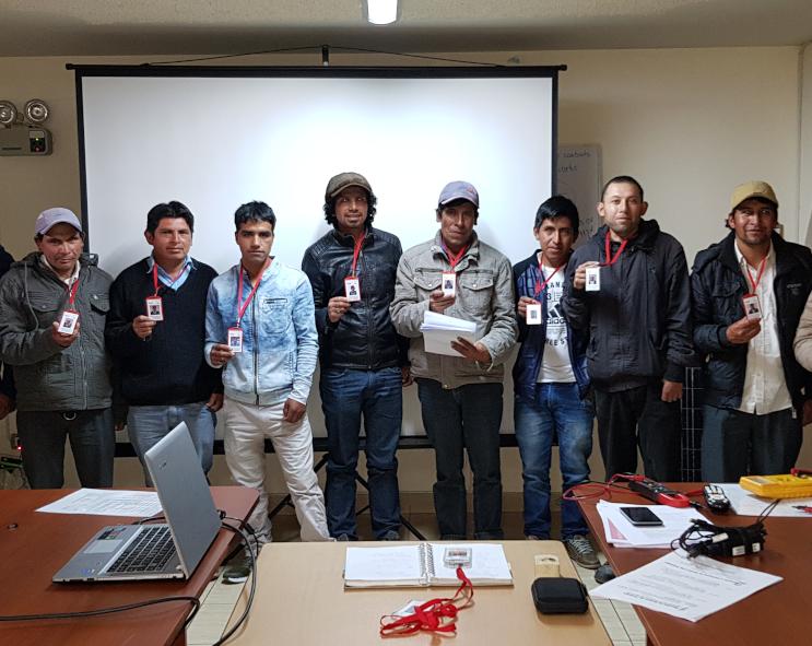 Celebramos el IV Taller de Técnicos-Emprendedores en Cajamarca (Perú)