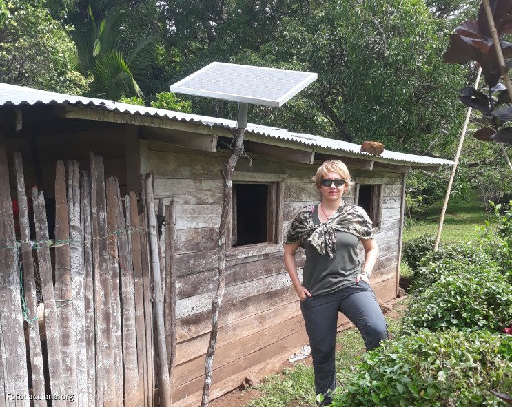 """Marta, primera voluntaria de acciona.org en Panamá: """"He disfrutado y aprendido mucho"""""""