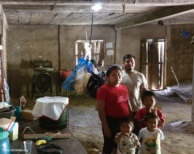 1,000 households have access to the EncASa Oaxaca electricity basic service