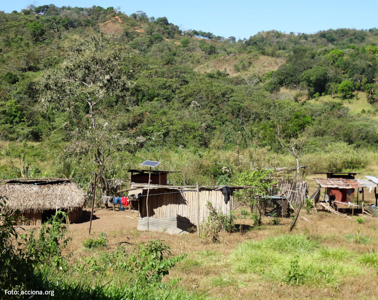 More than 500 additional households in Luz en Casa Ngäbe-Buglé